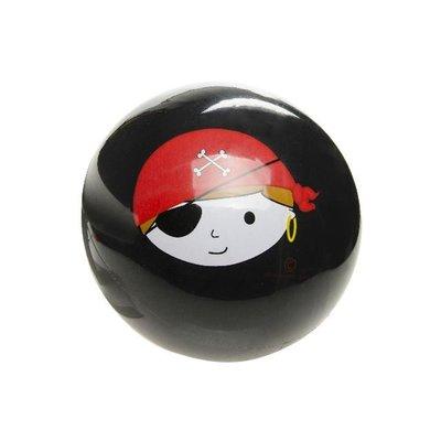 Bal Piraat ( onopgeblazen) ( NOG 4 STUKS ZWART OP VOORRAAD)