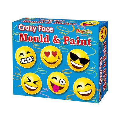 Maak je eigen magneet set Crazy Face ( Nog 71 op voorraad )