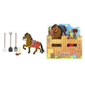 Paard in stal ( VOORRAAD 60 STUKS OP=OP)