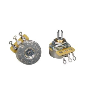 CTS CTS1MEG-A58 Potmeter Logaritmisch Short bus Solid shaft
