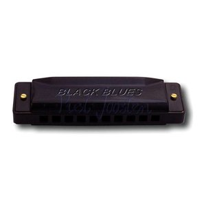 Hering 6020-B Black Blues Mondharmonica