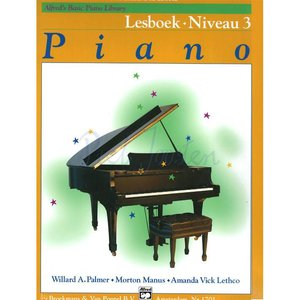 ALFRED'S BASIC PIANO LIBRARY LESBOEK 3