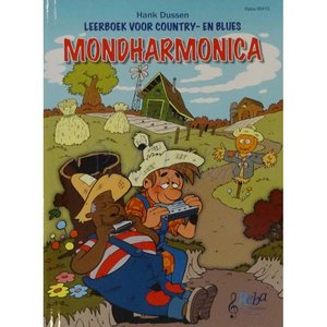 LEERBOEK VOOR COUNTRY- EN BLUES MONDHARMONICA