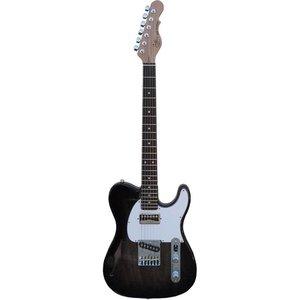 G&L ASAT Classic Bluesboy Semi Hollow Elektrische gitaar Blackburst