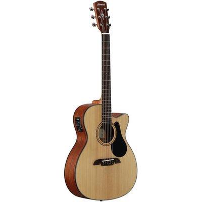 Alvarez AF30CE Folk Cutaway Akoestische gitaar Natural