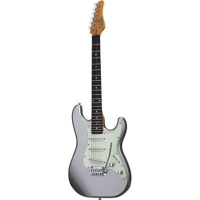 Schecter Nick Johnston TRAD Elektrische gitaar Atomic Silver