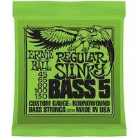 Ernie Ball 2836 Snaren Nickel Wound Regular Slinky Bass 5