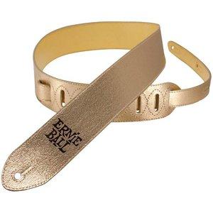 Ernie Ball 4066 Gitaarband Leather Gold Foil