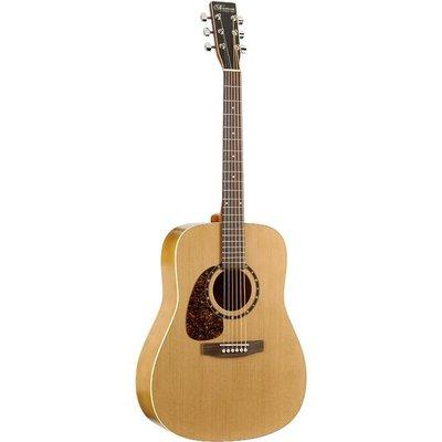Norman B18 Cedar Protege Akoestische gitaar Left Presys