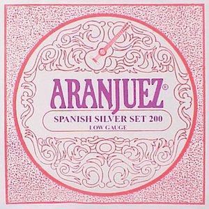Aranjuez 200 Nylon gitaarsnaren Spanish Silver