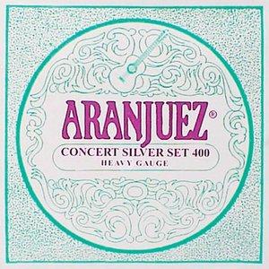 Aranjuez 400 Nylon gitaarsnaren Concert Silver