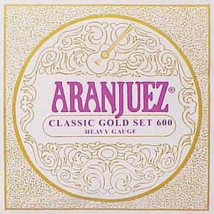 Aranjuez 600 Nylon gitaarsnaren Classic Gold