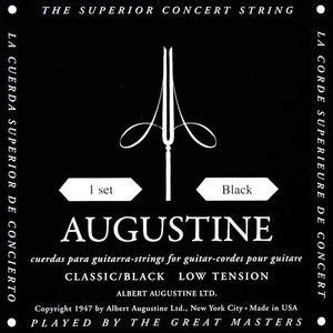 Augustine Classic Black Nylon gitaarsnaren Low Tension