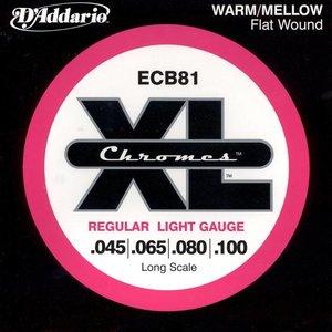 D'Addario ECB81 Snaren Chromes Regular Light