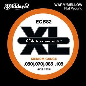 D'Addario ECB82 Snaren Chromes Medium