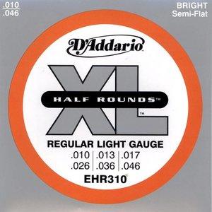 D'Addario EHR310 Snaren Half Rounds Regular Light