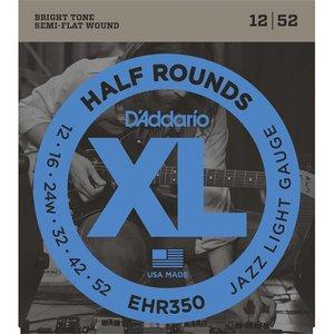 D'Addario EHR350 Snaren Half Rounds Jazz Light