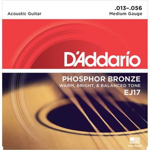 D'Addario EJ17 Snaren Phosphor Bronze Medium