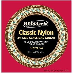 D'Addario EJ27N-3/4 Snaren Classic Normal Tension