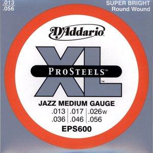 D'Addario EPS600 Snaren Pro Steels Jazz Medium