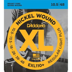D'Addario EXL110+ Snaren Nickel Wound Regular Light Plus