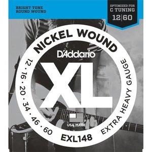 D'Addario EXL148 Snaren Nickel Wound Extra Heavy