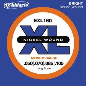 D'Addario EXL160 Snaren Nickel Wound Medium