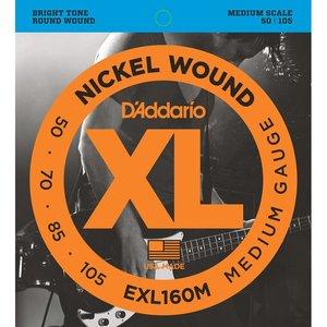 D'Addario EXL160M Snaren Nickel Wound Medium