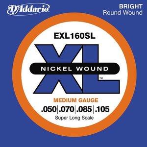 D'Addario EXL160SL Snaren Nickel Wound Medium
