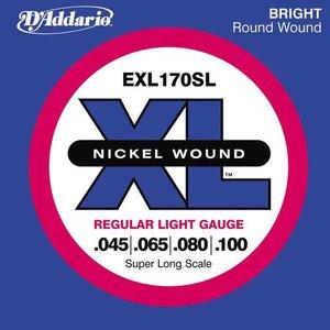D'Addario EXL170SL Snaren Nickel Wound Regular Light