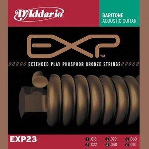 D'Addario EXP23 Snaren Coated Phosphor Bronze Baritone