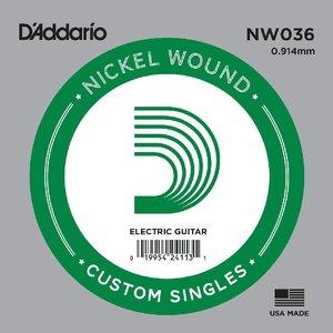 D'Addario NW036 Snaar staal Nickel Wound
