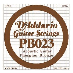 D'Addario PB023 Snaar Phosphor Bronze