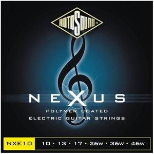Rotosound NXE10 Snaren Nexus Black Coated Regular