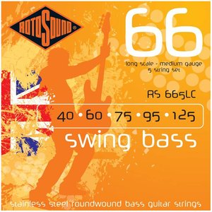 Rotosound RS665LC Bassnaren Swing Bass Medium