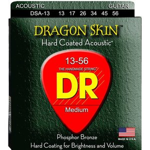 DR Strings DSA-13 Snaren Dragon Skin Medium