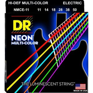DR Strings NMCE-11 Snaren Neon Multicolor Heavy