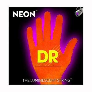 DR Strings NOB5-45 Snaren Neon Orange Medium 5