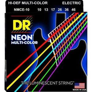 DR Strings NMCE-10 Snaren Neon Multicolor Medium