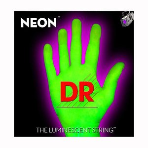 DR Strings NGE7-9 Snaren Neon Green Lite 7-String