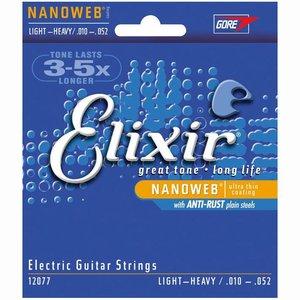 Elixir 12077 Nanoweb Snaren Light Heavy