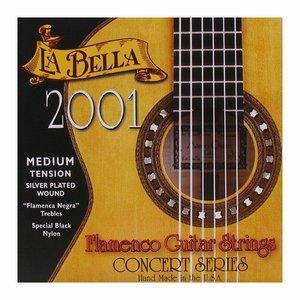 La Bella 2001FM Nylon gitaarsnaren Classic Flamenco Medium