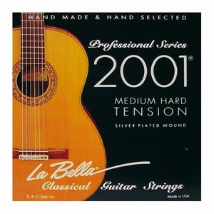 La Bella 2001MH Nylon gitaarsnaren Concert Medium Hard