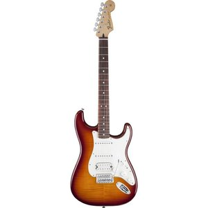 Fender Standard Stratocaster HSS Plus Top Tobacco Sunburst