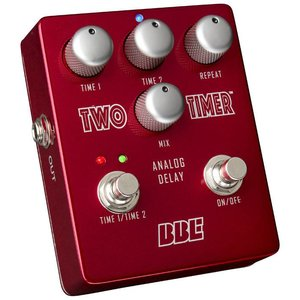 BBE Sound TT-2 Two Timer Effectpedaal Delay