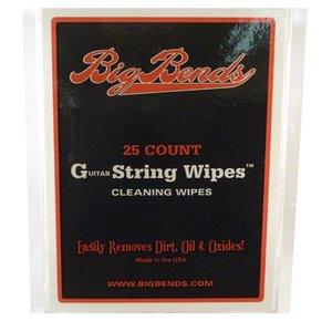 Big Bends Guitar String Wipes 25-Stuks