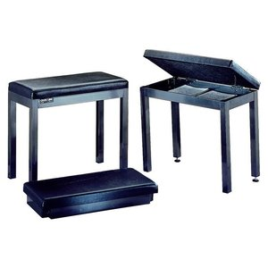 Quik Lok PB120 Pianobank Black