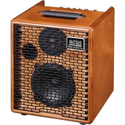 Acus One-forstrings-5 Akoestische gitaarversterker Wood
