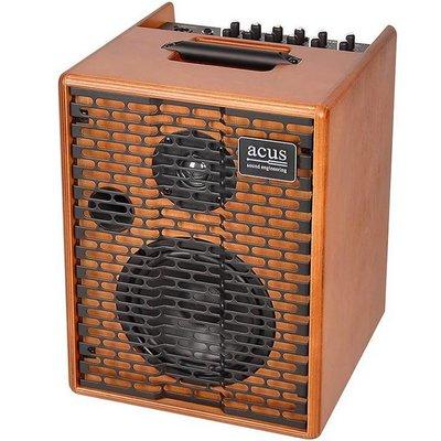 Acus One For Street Akoestische gitaarversterker Wood