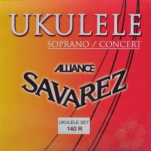 Savarez 140R Sopraan/Concert Ukulelesnaren Alliance